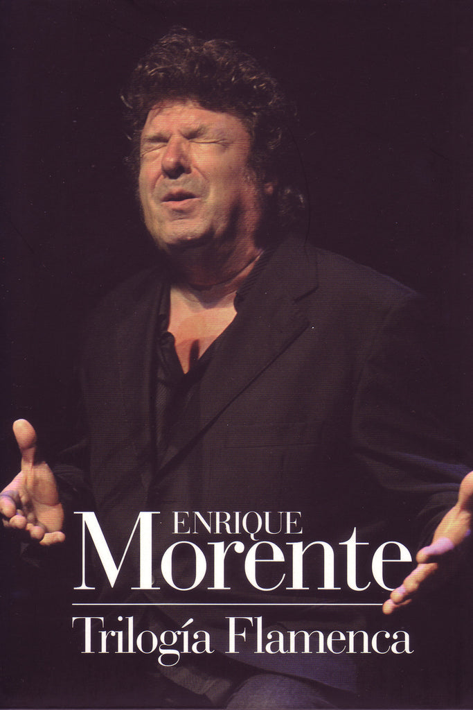 Image of Enrique Morente, Trilogia Flamenca, 2 CDs & DVD-PAL