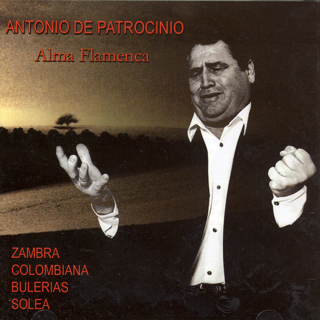Image of Antonio del Patrocinio, Alma Flamenca, CD