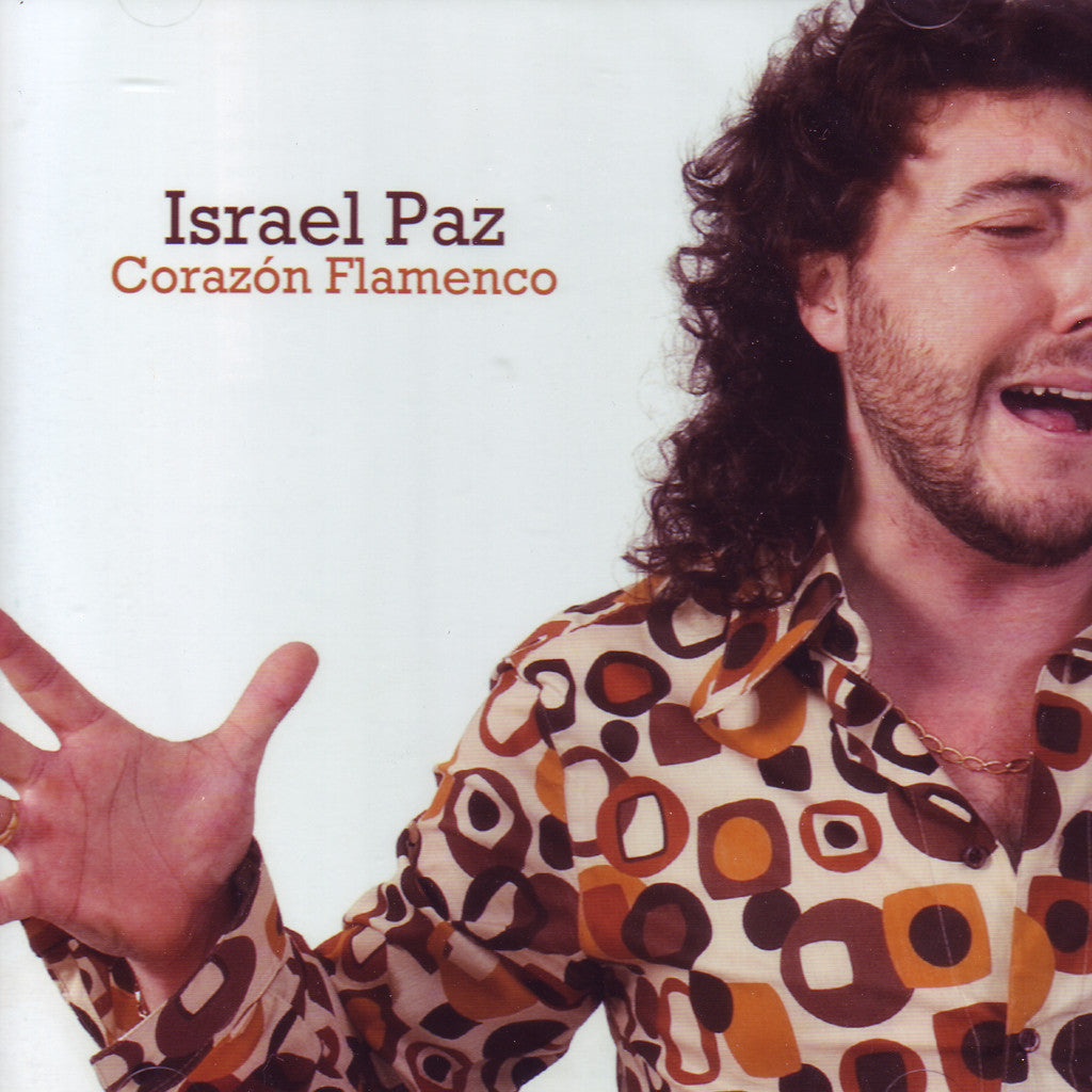 Image of Israel Paz, Corazon Flamenco, CD