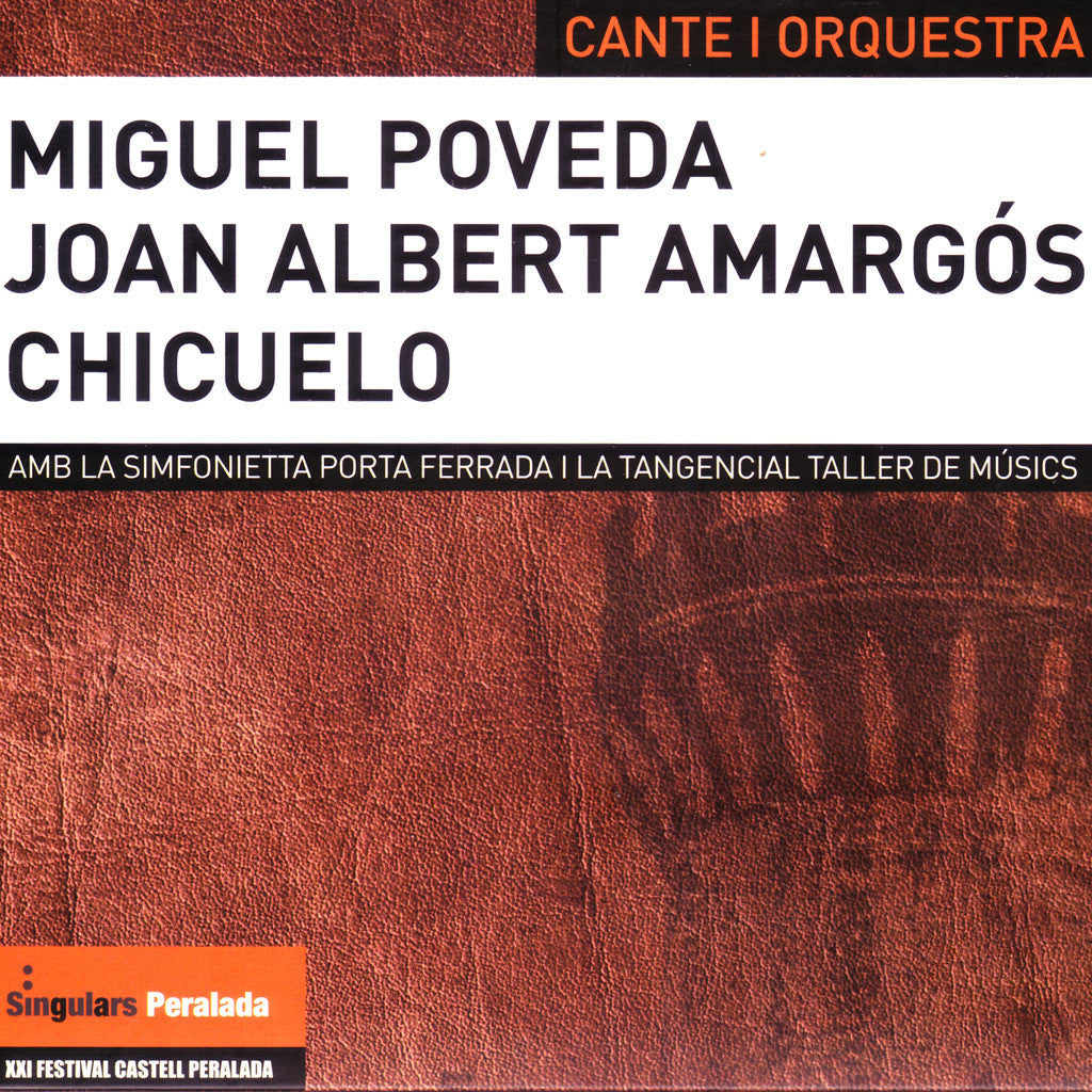 Image of Miguel Poveda, Cante i Orquesta, CD