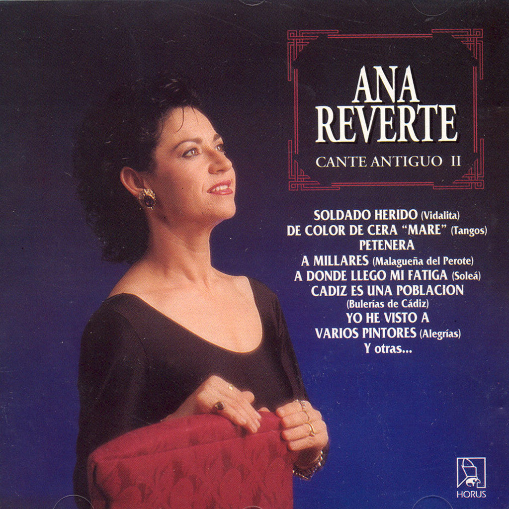 Image of Ana Reverte, Cante Antiguo II, CD