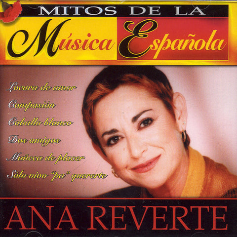 Image of Ana Reverte, Mitos de la Musica Española, CD