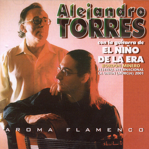 Image of Alejandro Torres, Aroma Flamenco, CD