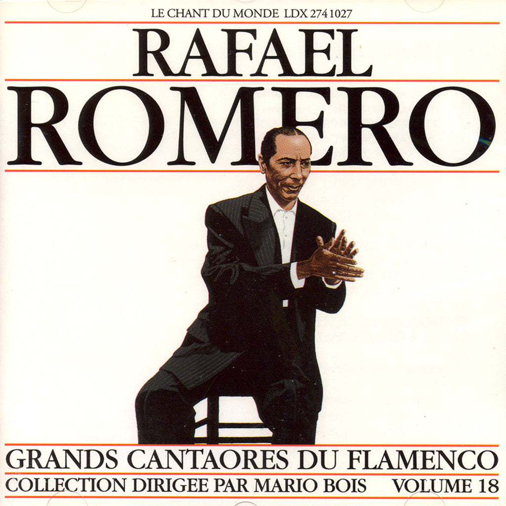 Image of Rafael Romero, Grandes Figures Flamenco, CD