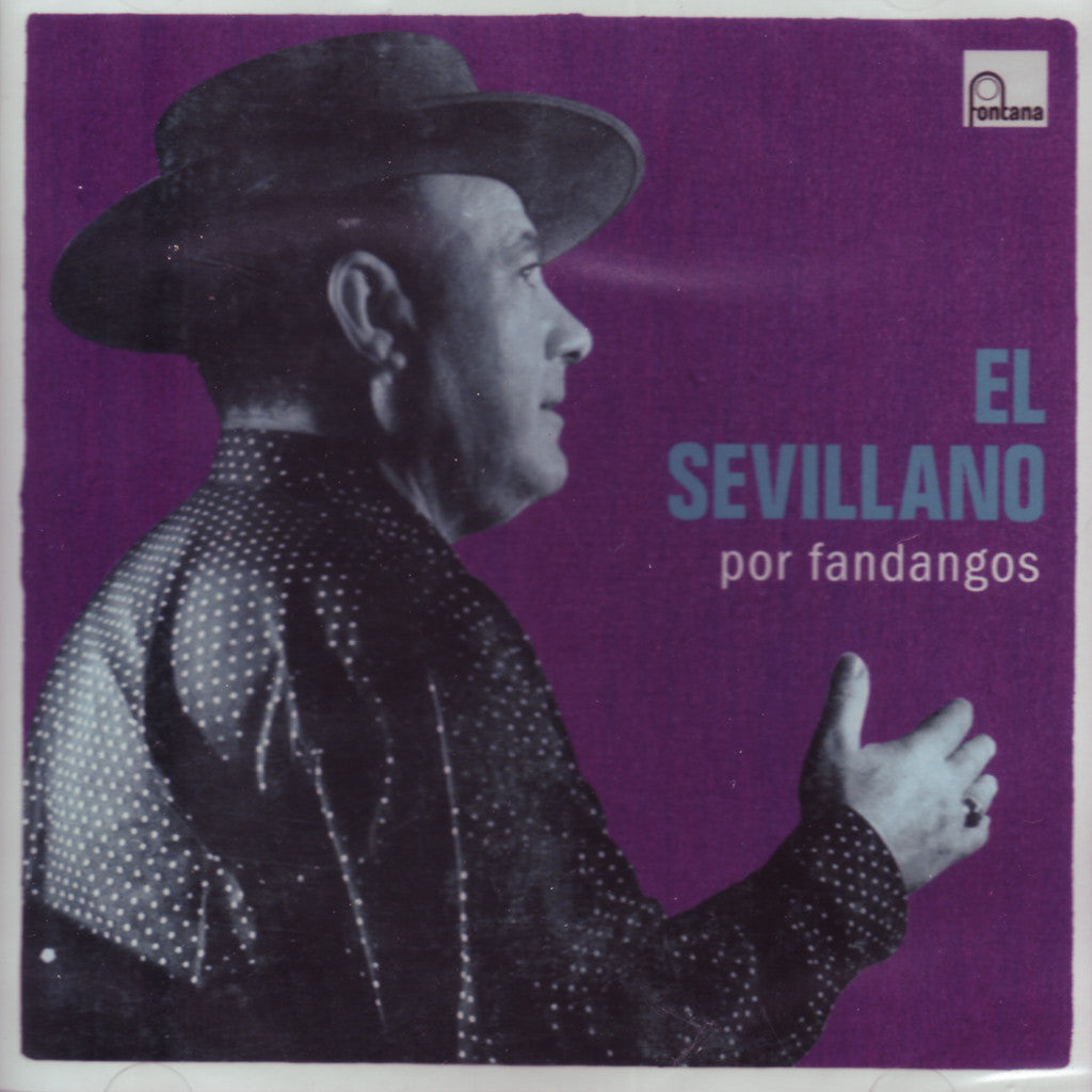 Image of Antonio el Sevillano, Por Fandangos, CD