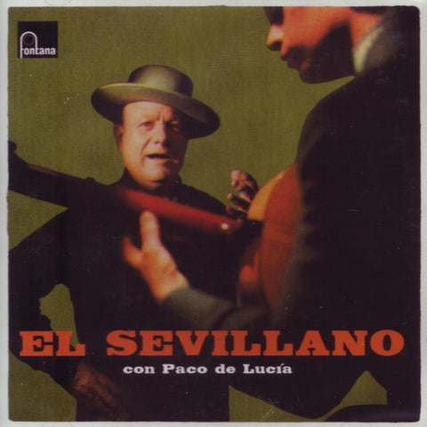 Image of Antonio el Sevillano, Con Paco de Lucia, CD