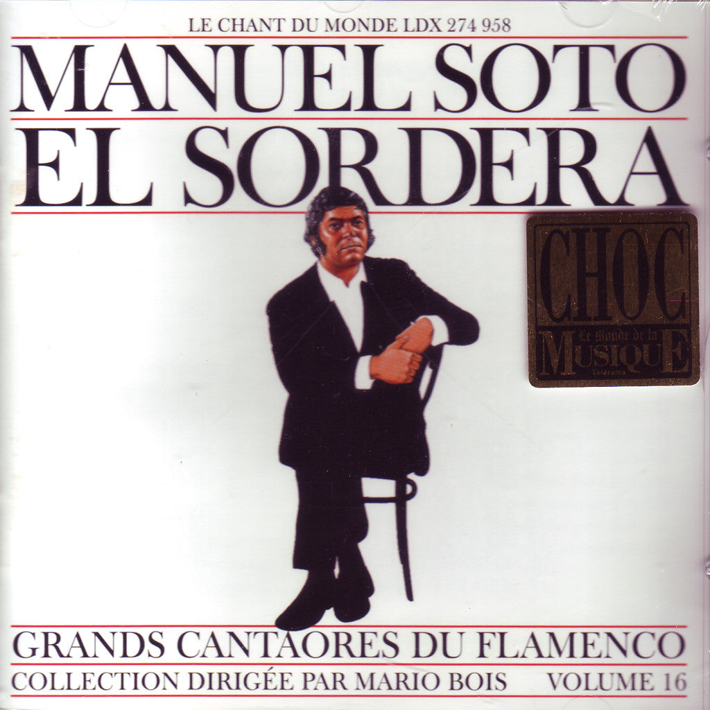 "Image of Manuel Soto ""Sordera"", Grandes Figures du Flamenco, CD"