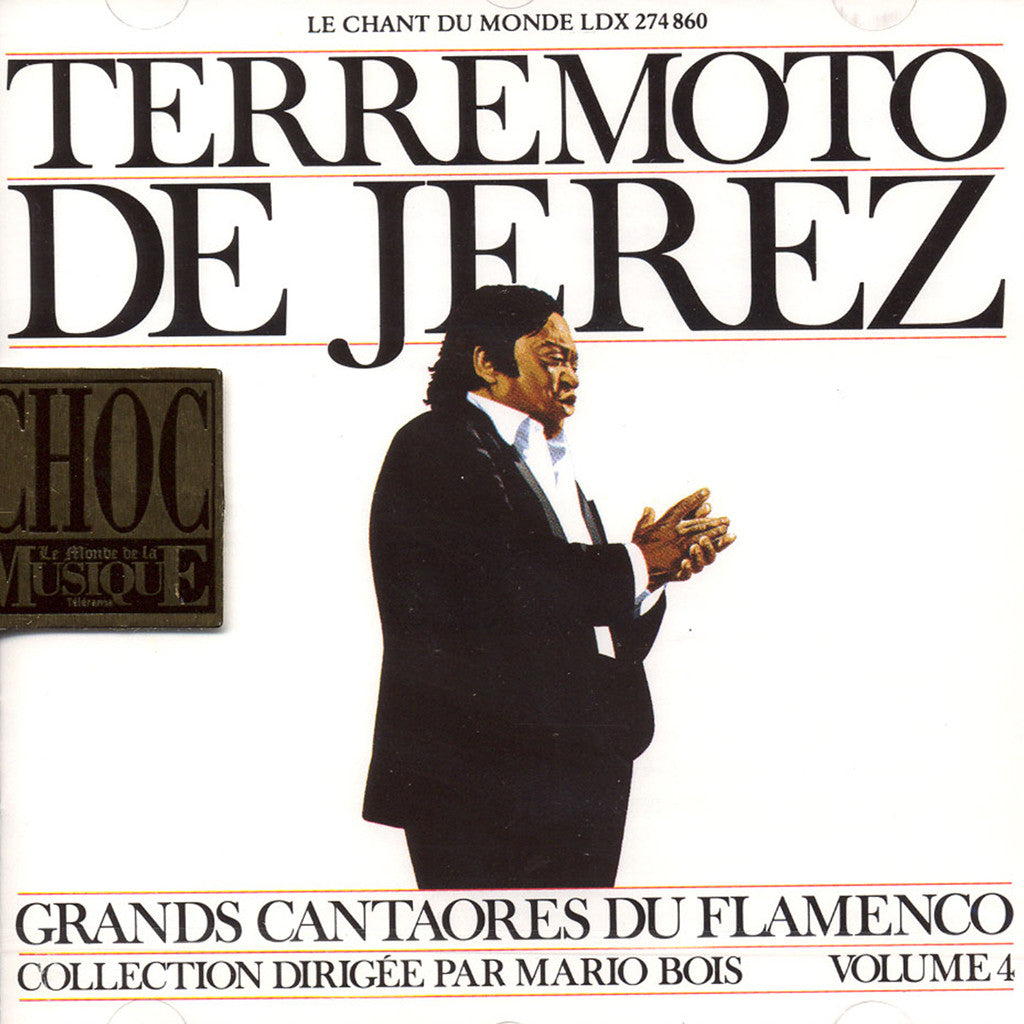 Image of El Terremoto de Jerez, Grandes Figures du Flamenco, CD