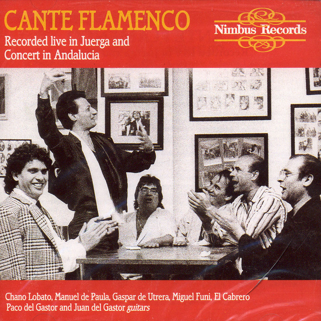 Image of Various Artists, Cante Flamenco, CD
