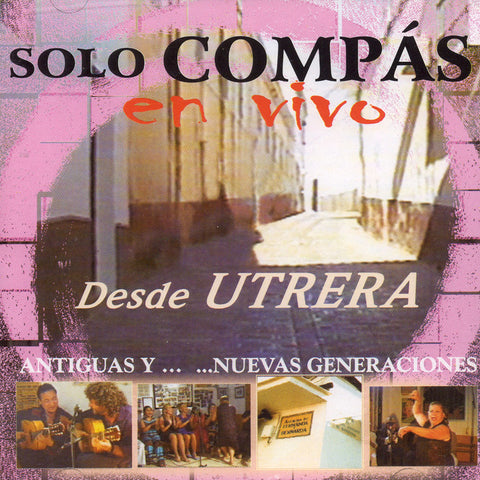 Image of Utrera (Various Artists), Solo Compas: En Vivo Desde Utrera, 2 CDs