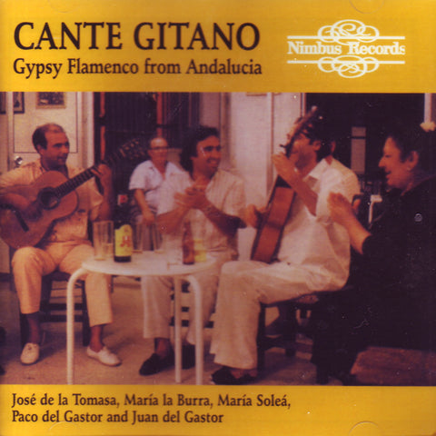 Image of Various Artists, Cante Gitano, CD
