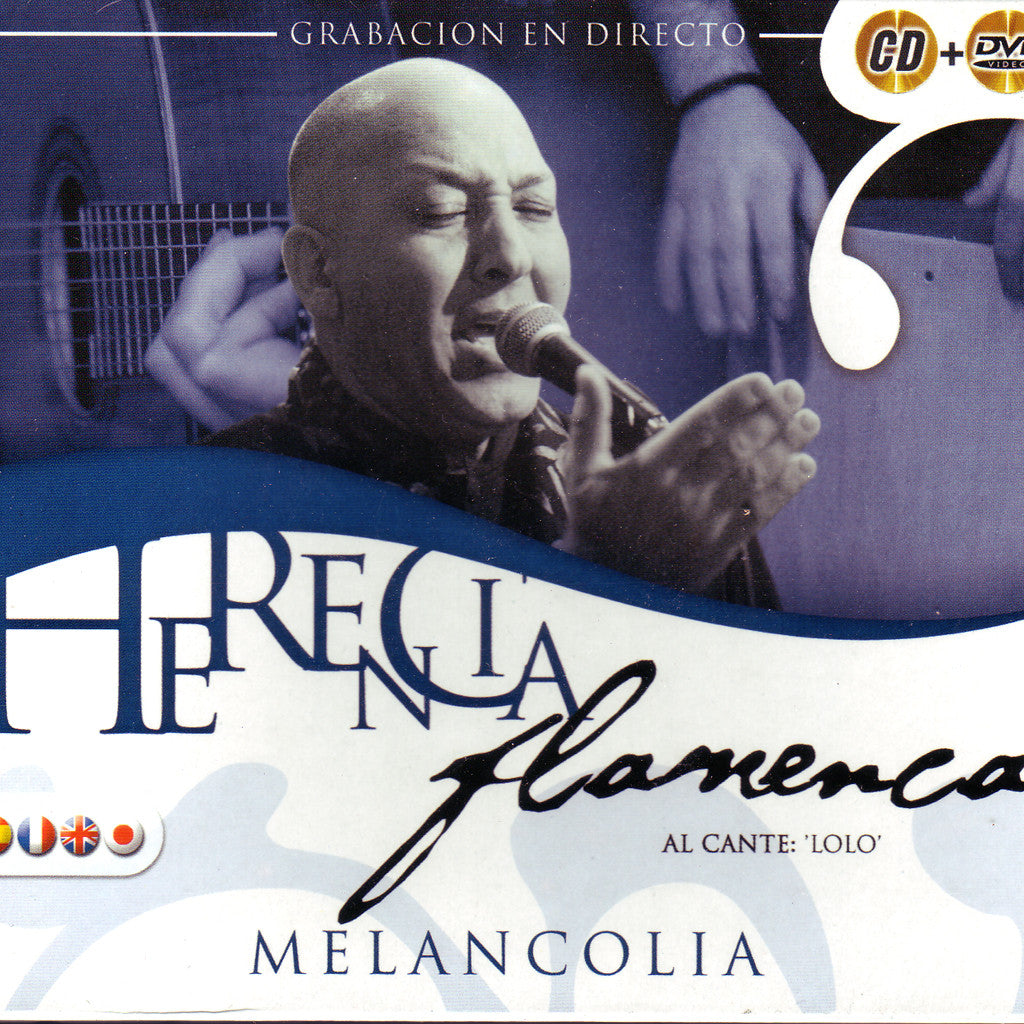 Image of Various Artists, Herencia Flamenca: Melancolia, CD & DVD