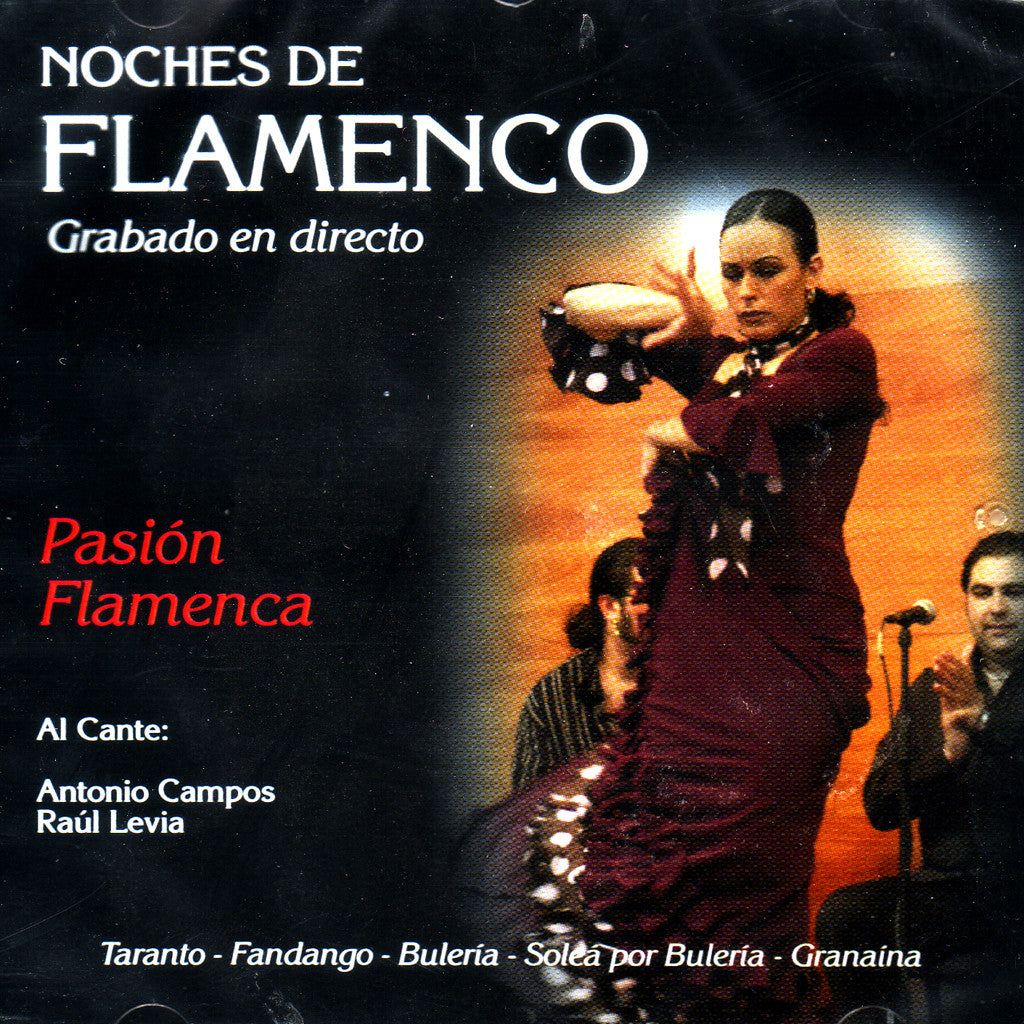 Image of Various Artists, Noches de Flamenco: Pasion Flamenca, CD