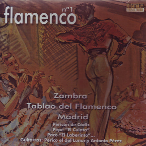 Image of Tablao de Flamenco Madrid, Flamenco Zambra, CD