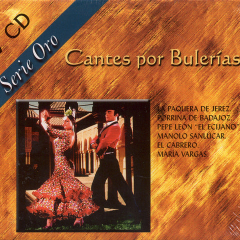 Image of Various Artists, Cantes por Bulerias, 2 CDs
