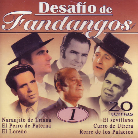 Image of Various Artists, Desafio de Fandangos vol.1, CD