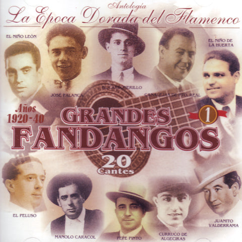 Image of Various Artists, Grandes Fandangos vol.1, CD