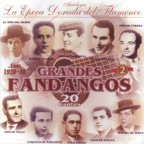 Image of Various Artists, Grandes Fandangos vol.2, CD