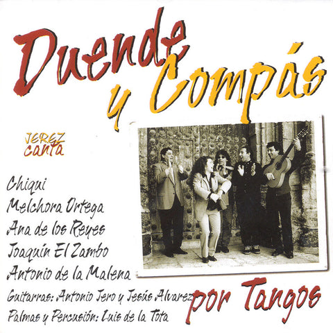 Image of Various Artists, Duende y Compas: Jerez Canta por Tangos, CD