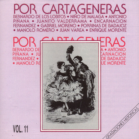 Image of Various Artists, Por Cartageneras, CD