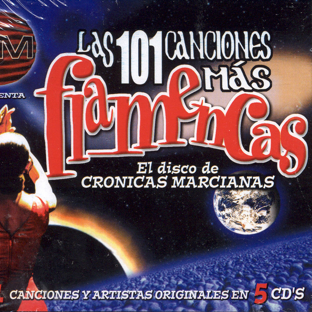 Image of Various Artists, Las 101 Canciones Mas Flamencas, 5 CDs