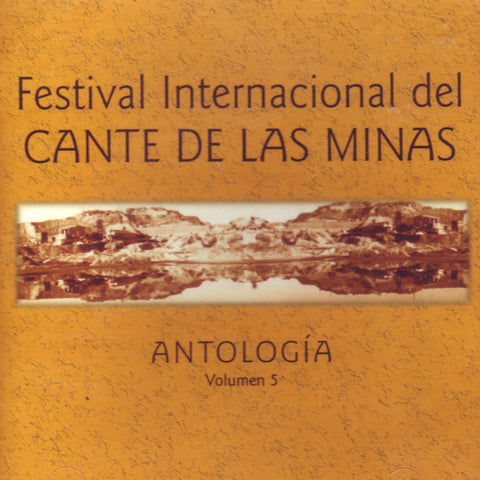 Image of Various Artists, Festival del Cante de las Minas: Antologia vol.5, CD