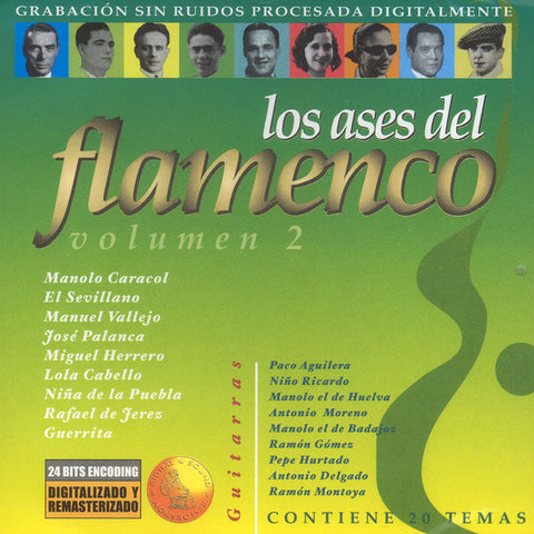 Image of Various Artists, Ases del Flamenco vol.2, CD