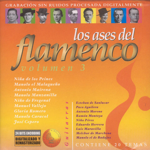 Image of Various Artists, Ases del Flamenco vol.3, CD