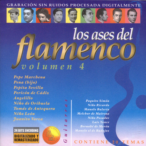 Image of Various Artists, Ases del Flamenco vol.4, CD