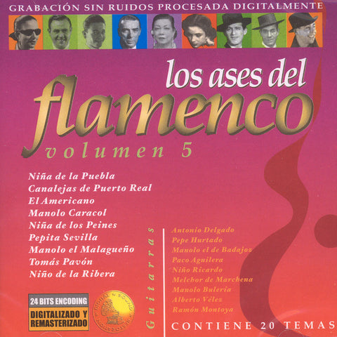 Image of Various Artists, Ases del Flamenco vol.5, CD