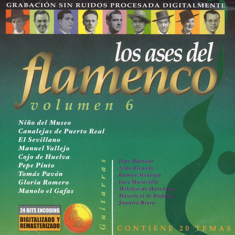 Image of Various Artists, Ases del Flamenco vol.6, CD