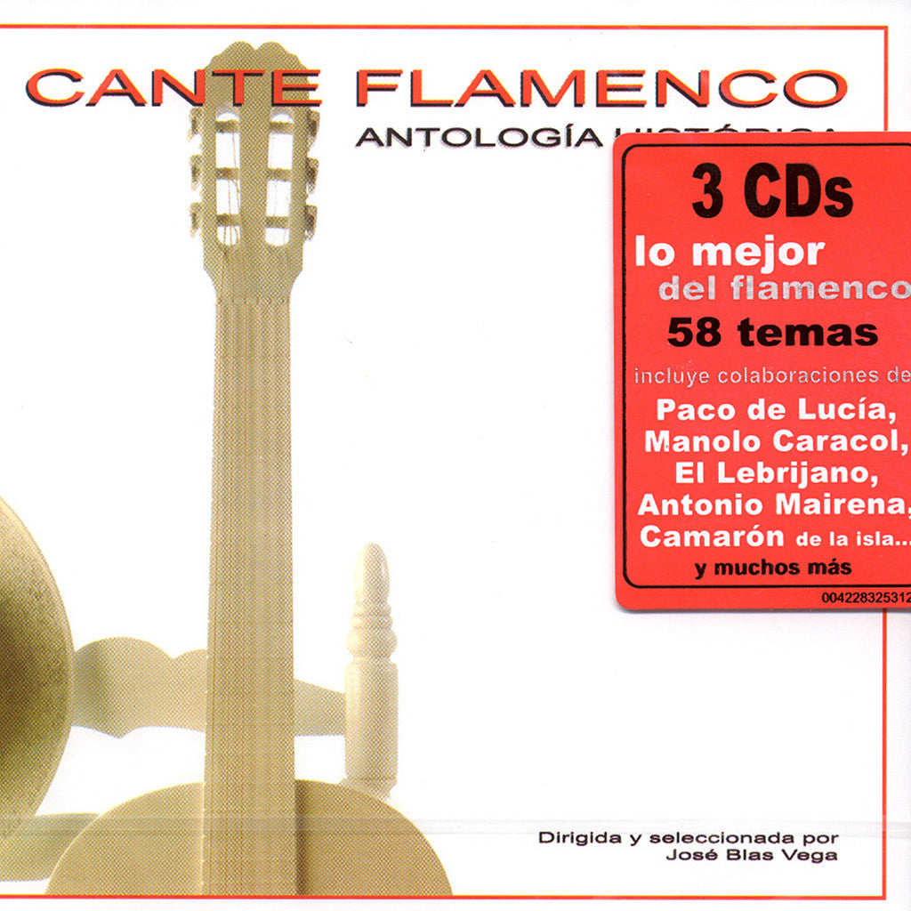 Image of Various Artists, El Cante Flamenco: Antologia Historica, 3 CDs