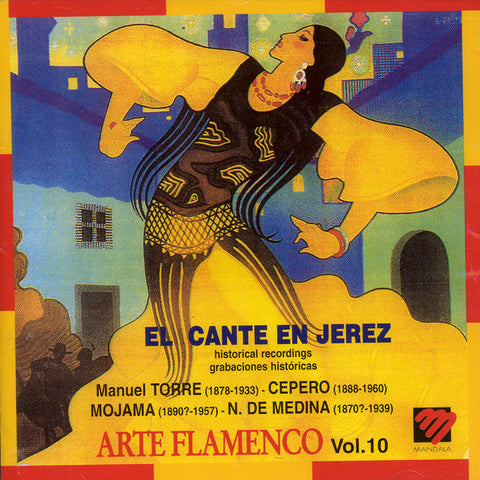 Image of Various Artists, Arte Flamenco vol.10: El Cante en Jerez, CD