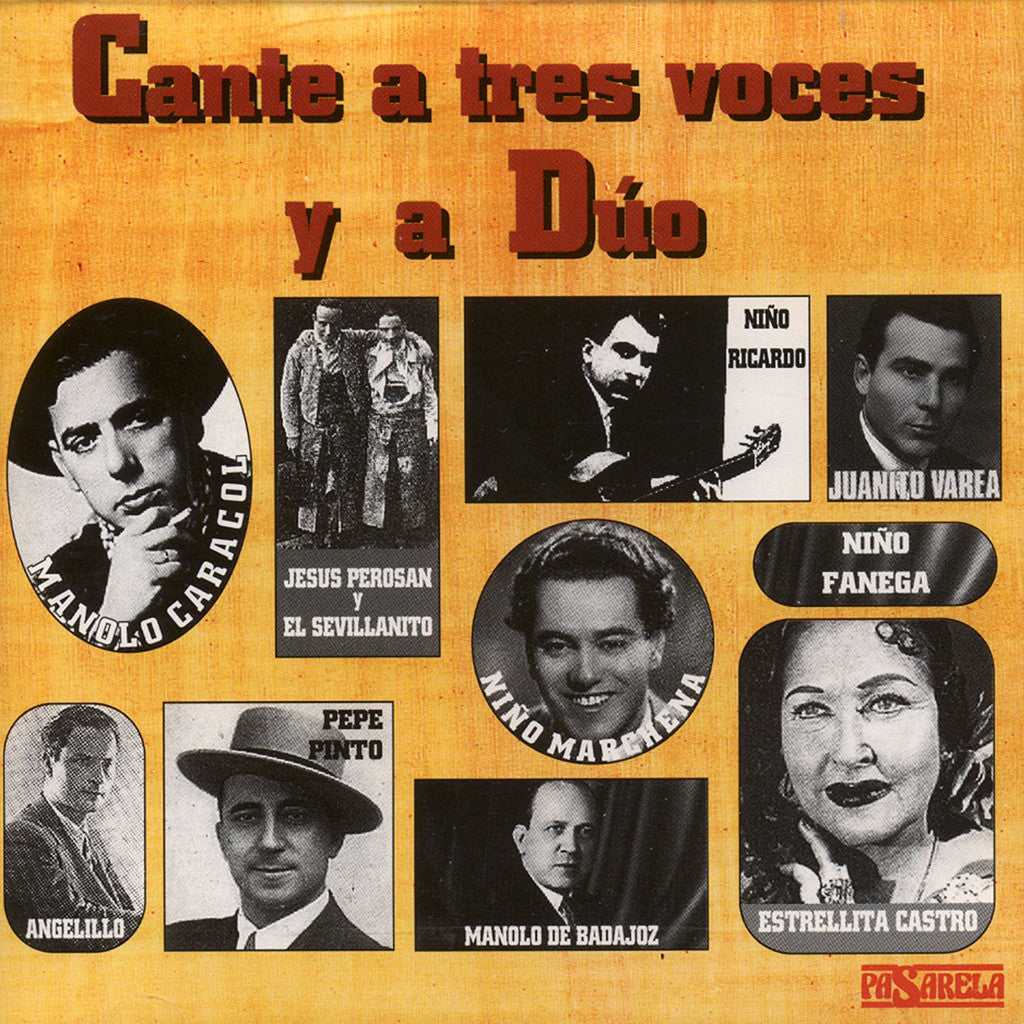 Image of Various Artists, Cantes a Duo y a Tres Voces, CD