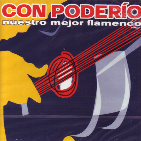 Image of Various Artists, Con Poderio: Nuestro Mejor Flamenco, 2 CDs