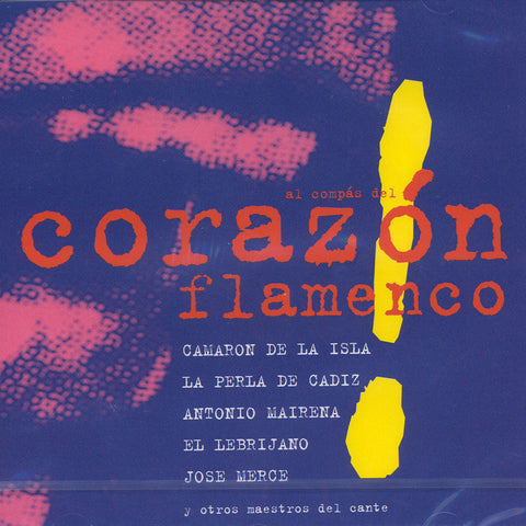 Image of Various Artists, Al Compas del Corazon Flamenco, CD