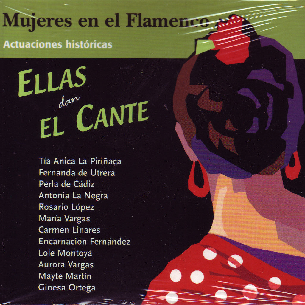 Image of Various Artists, Ellas Dan el Cante, 2CDs