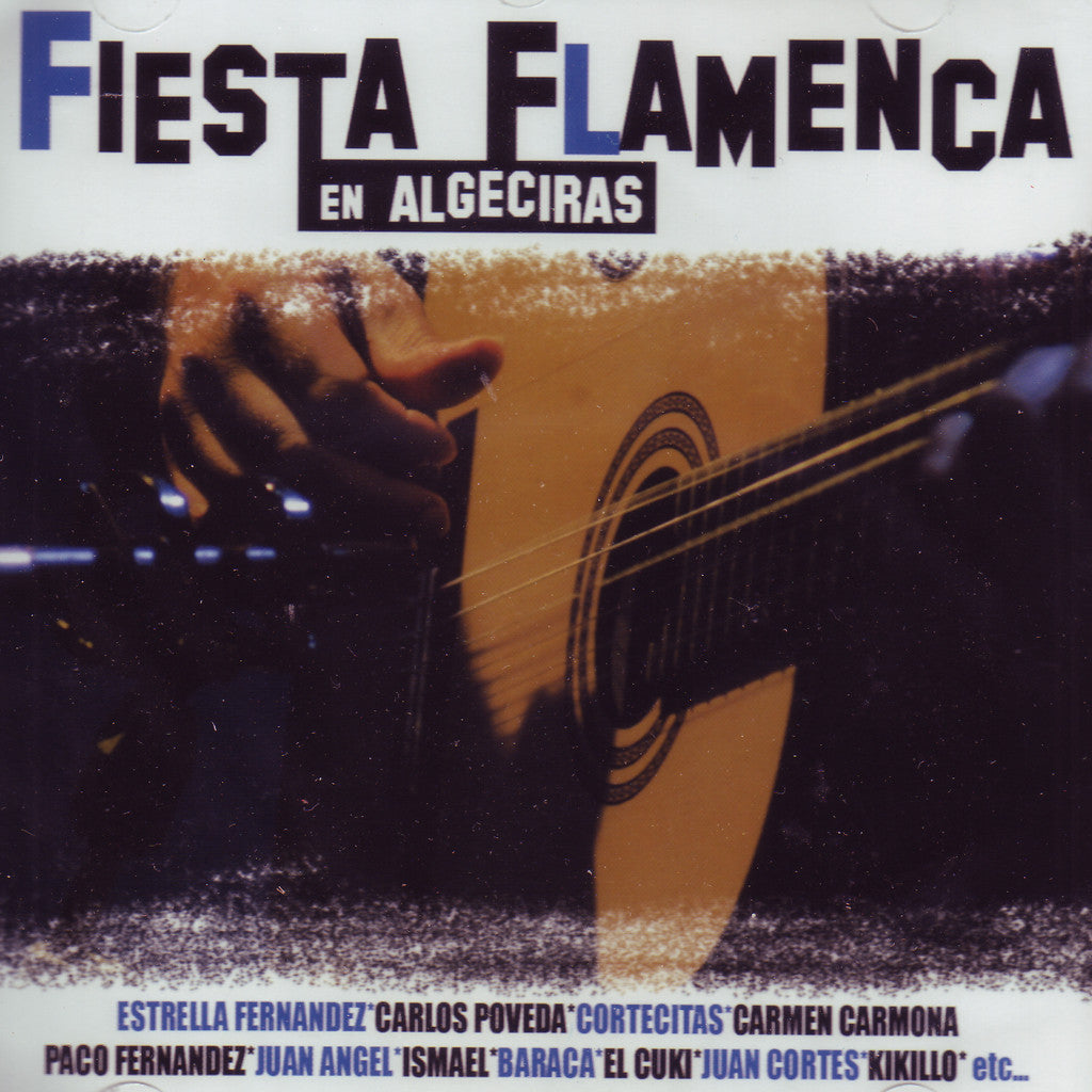 Image of Various Artists, Fiesta Flamenca en Algeciras, CD