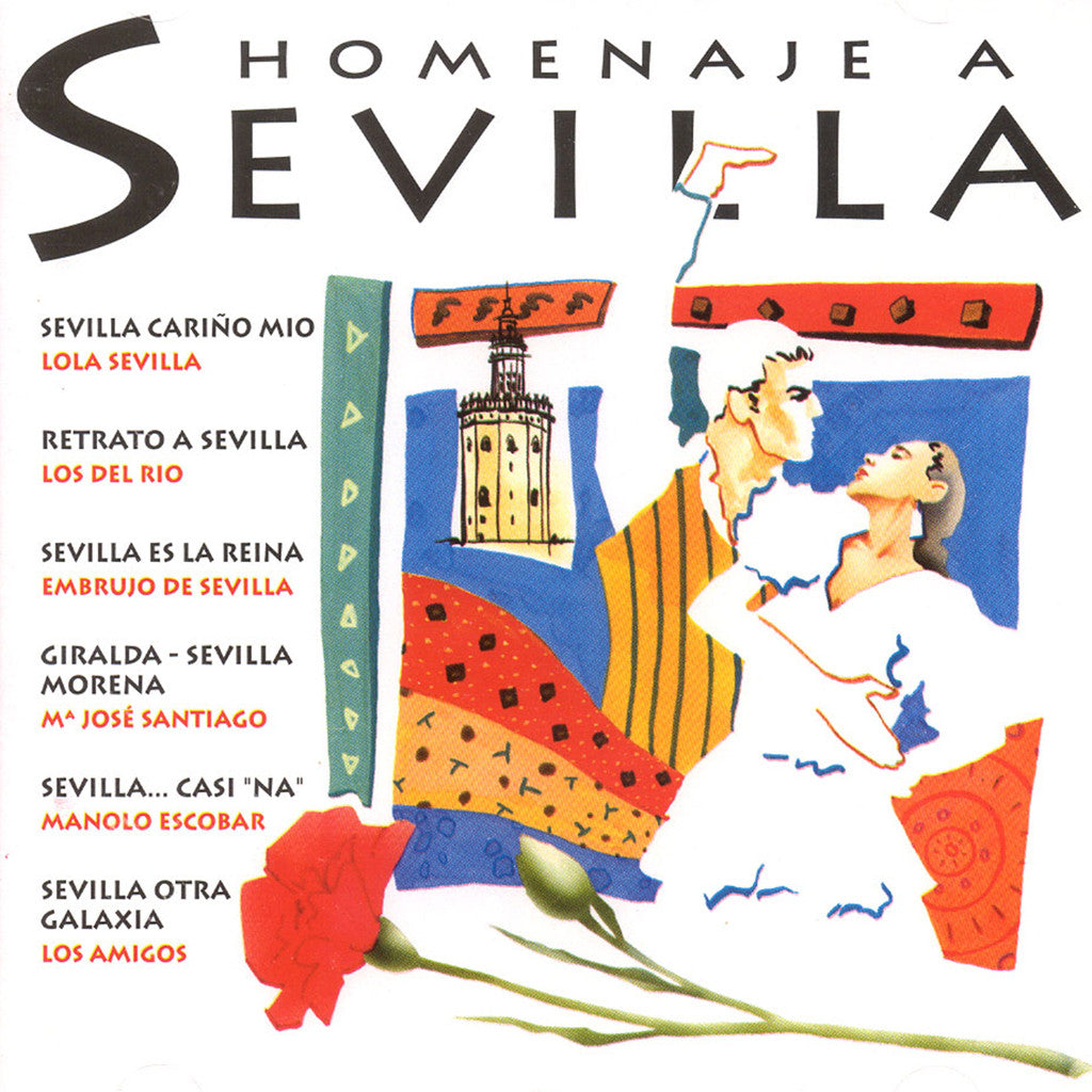 Image of Various Artists, Homenaje a Sevilla, CD