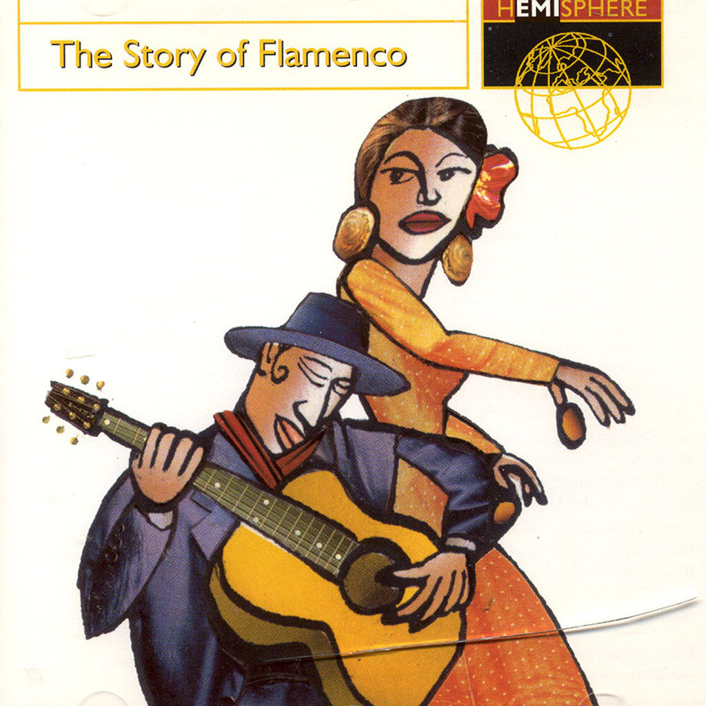 Image of Various Artists, The Story of Flamenco, CD