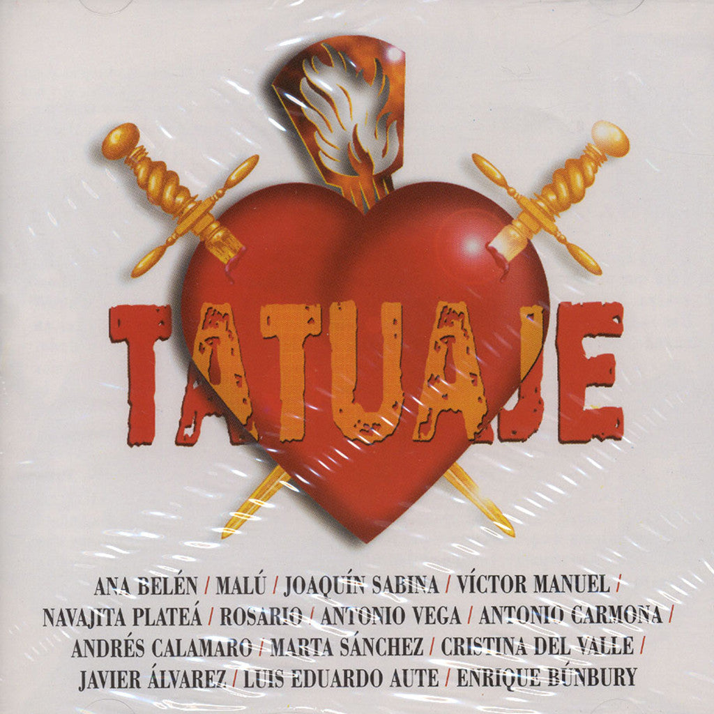 Image of Various Artists, Tatuaje, CD