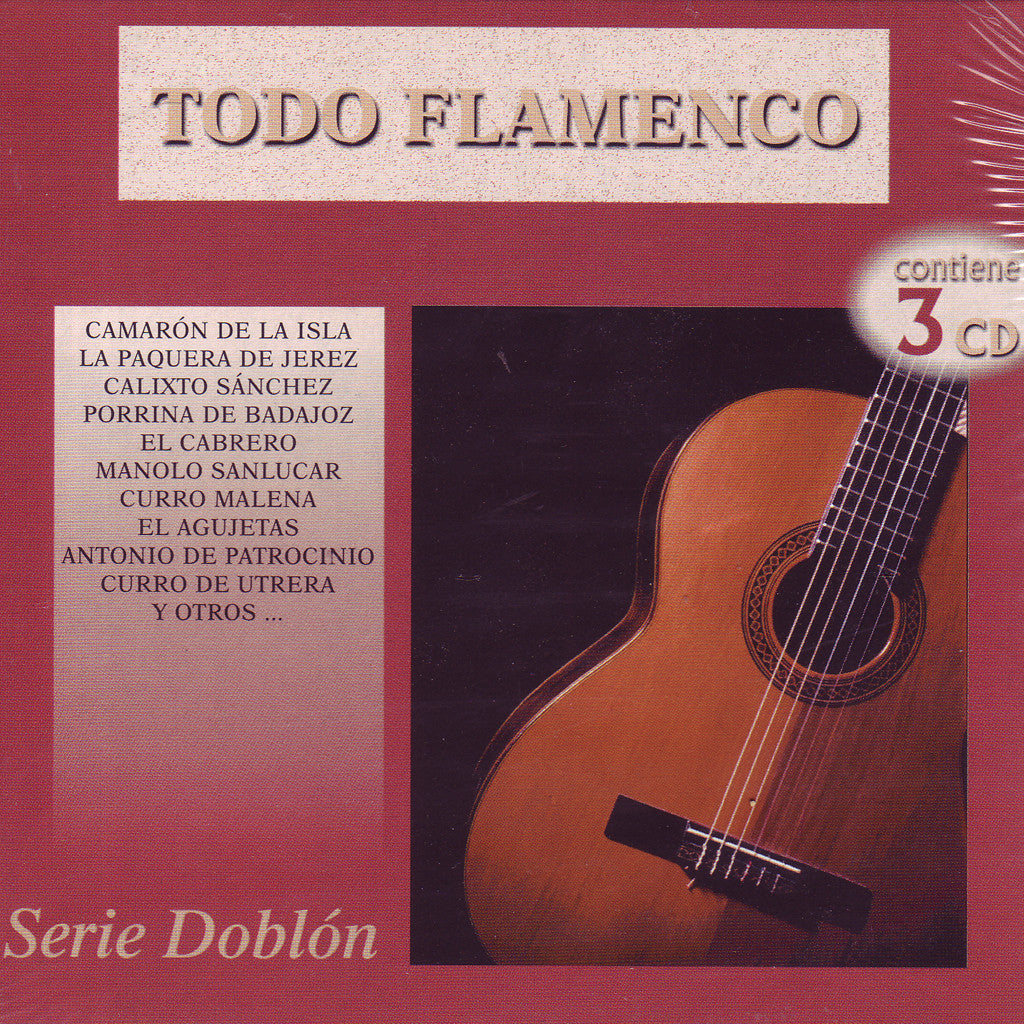 Image of Various Artists, Todo Flamenco, 3 CDs