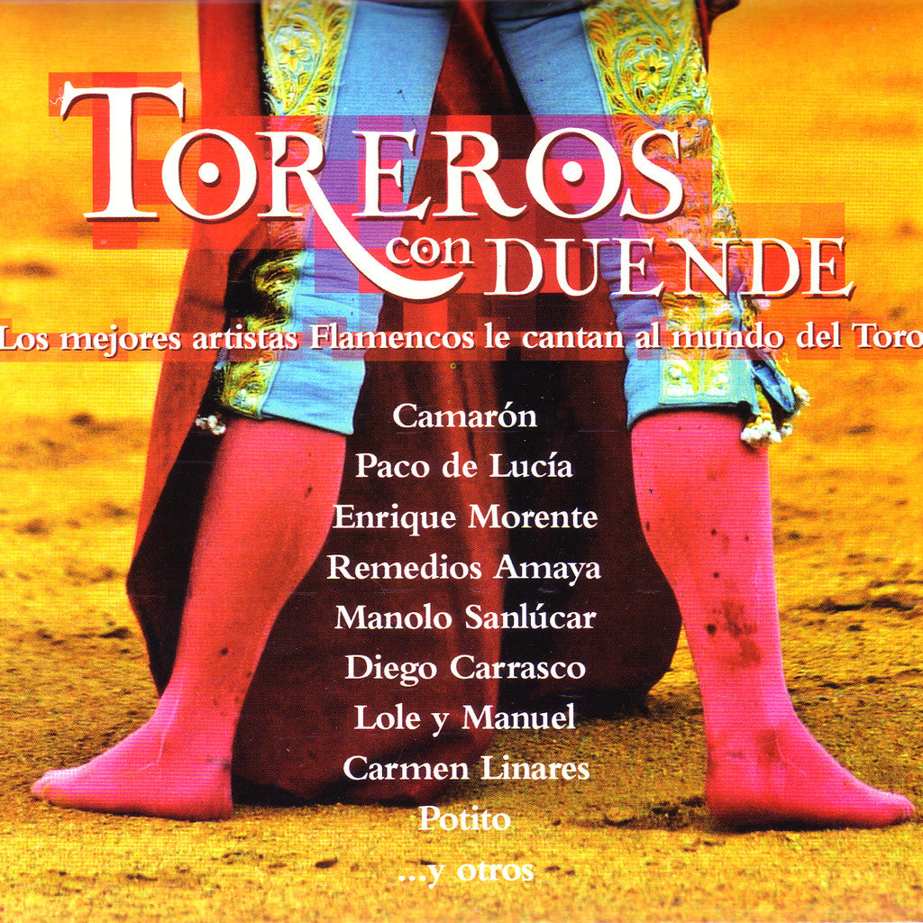Image of Various Artists, Toreros con Duende, CD