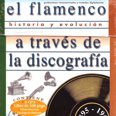 Image of Various Artists, El Flamenco a Traves de la Discografia, 6 CDs