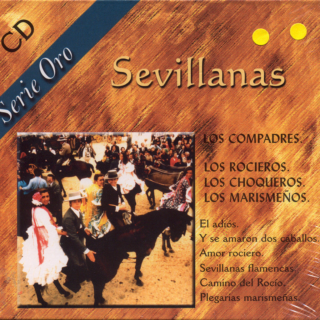 Image of Various Artists, Sevillanas, 2 CDs