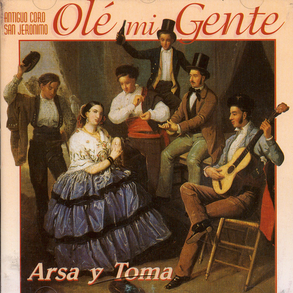 Image of Coro San Geronimo, Arsa y Toma, CD