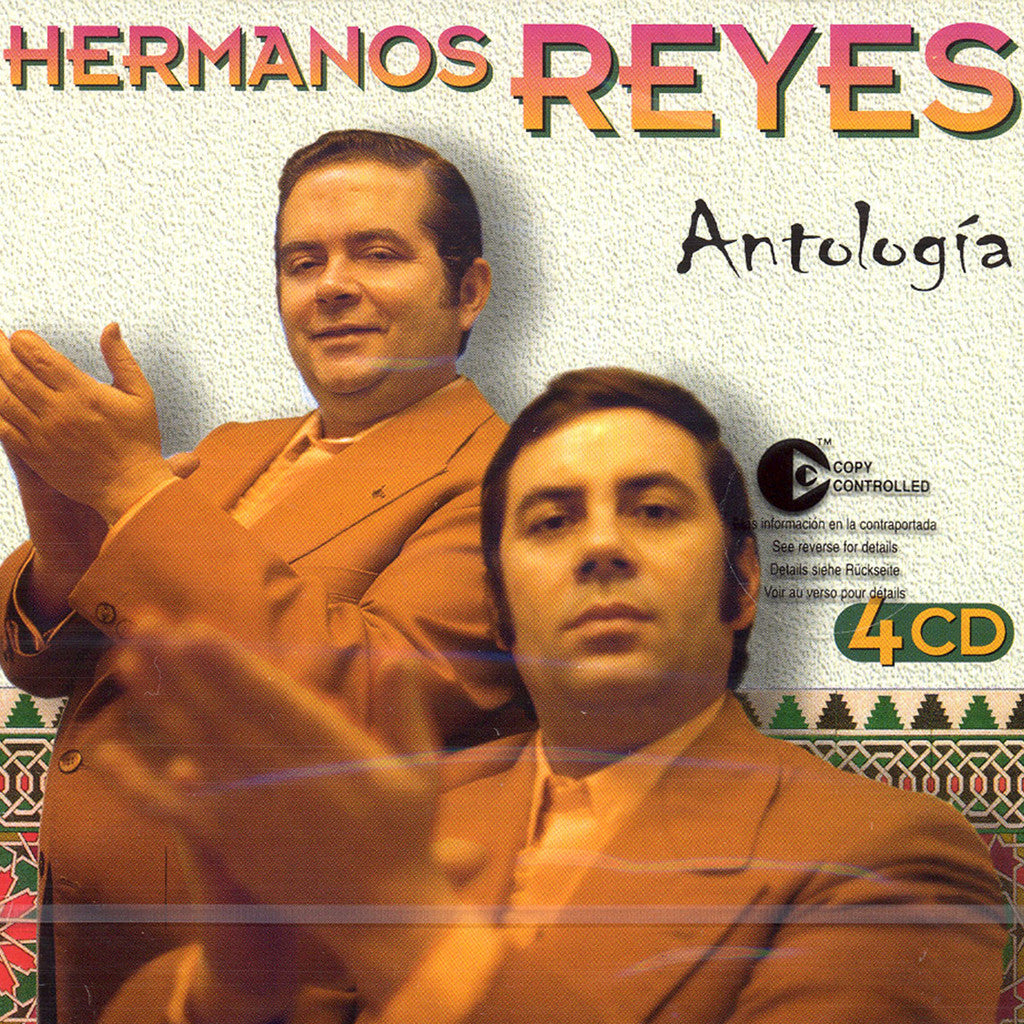 Image of Los Hermanos Reyes, Antologia, 4 CDs