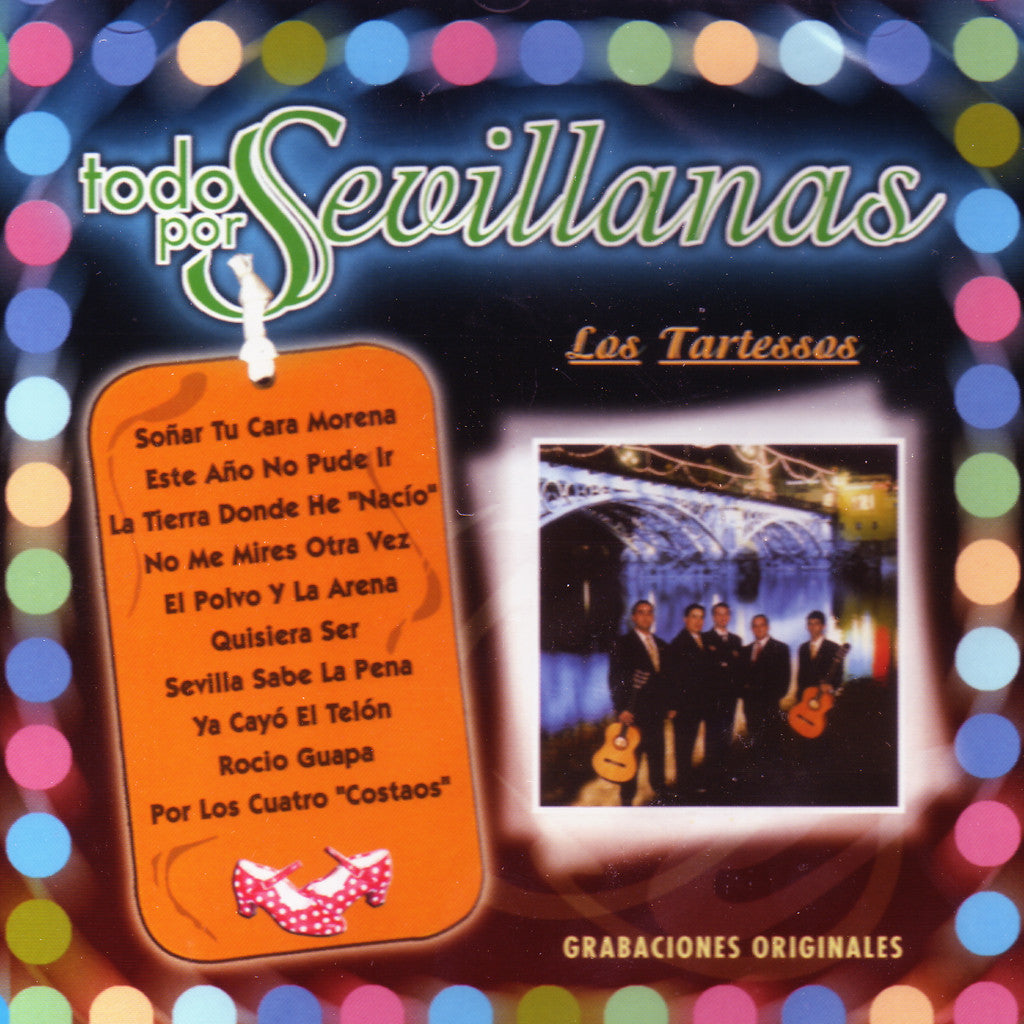 Image of Los Tartessos, Todo por Sevillanas, CD