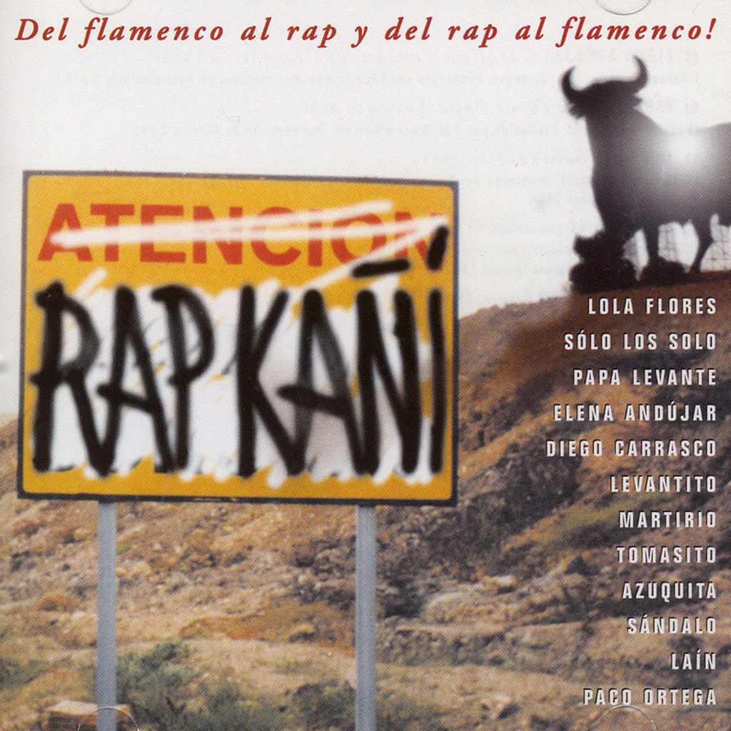 Image of Various Artists, Rap Kañí, CD