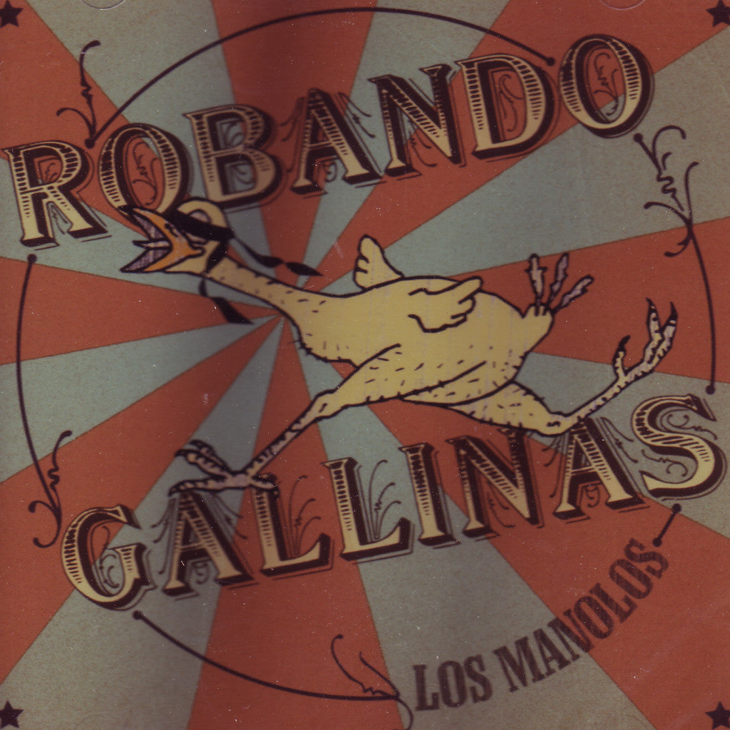 Image of Los Manolos, Robando Gallinas, CD